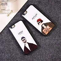 Чехол на iPhone 4, 5, 6, 6+ Леон и Матильда