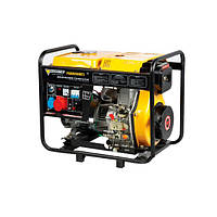 Дизельный генератор FORTE FGD6500E3 на 6,0 кВт. 220/380 V