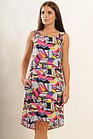 Платье - сарафан из батиста Оригинальный принт