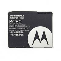 Оригинальный аккумулятор АКБ батарея Motorola BC60 850mAh