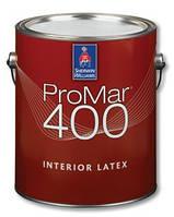 Краска Sherwin-Williams Promar 400 (шервин вильямс промар 400)- 3,66л, для стен и потолков матовая