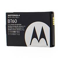 Оригинальный аккумулятор АКБ батарея Motorola BT60 1100mAh