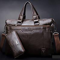Мужская кожаная сумка. Модель 0427, фото 1