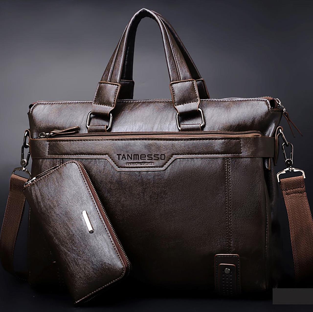 caf9e96d821f Мужская кожаная сумка. Модель 0427 - Интернет-магазин