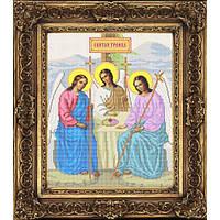 """Схема иконы для вышивки бисером на габардине """"Святая Троица"""" (Арт. ИБ3-15)"""