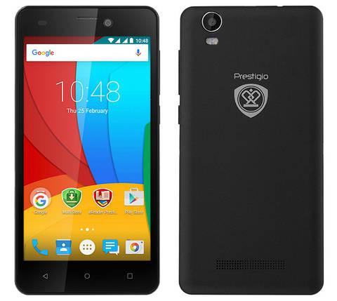 Мобильный телефон Prestigio MultiPhone Muze A5 5502 Duo Black, фото 2