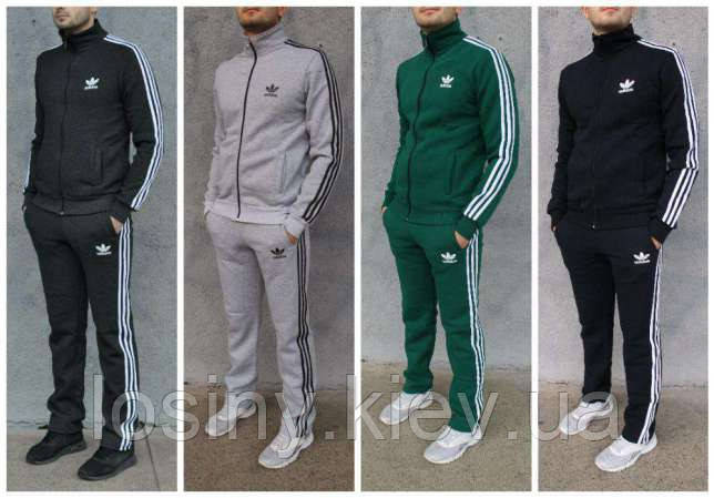 5eb4679fac4 Мужской спортивный костюм Adidas (Адидас норма и большые размеры 2ХL ...