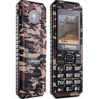 Мобильный телефон Sigma  X-style 11 Dragon coffe camouflage
