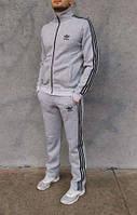 Cпортивный костюм Adidas для подростков! Размеры 40, 42, 44, 46, 48! Светлосерый