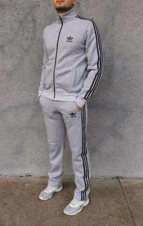 Купить Мужской спортивный костюм Adidas. Адидас светлосерый в ... 0de386df7ae71