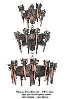 Люстра Факел Римский на 24 ламп