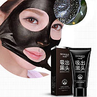 Черная маска в тюбике - пленка от черных точек и сужающая поры