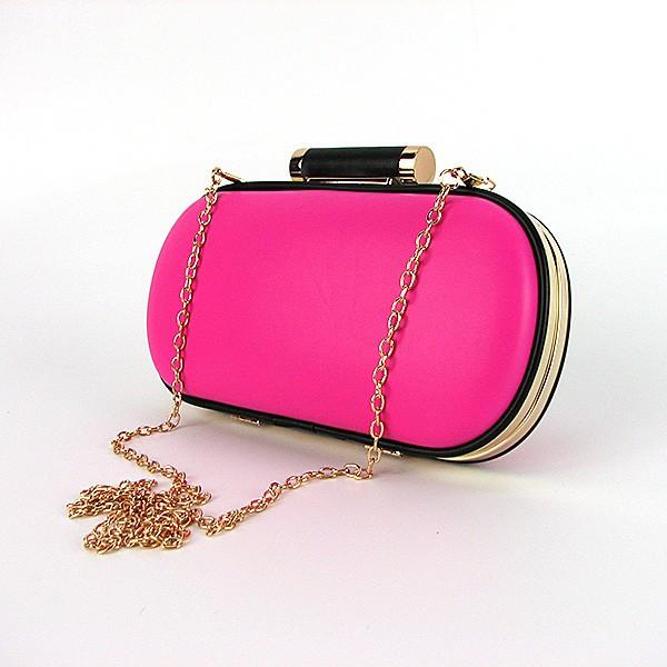 Розовая маленькая сумочка клатч-бокс женская на цепочке  продажа ... d2e6140e4ec