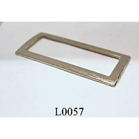 Рамка литая металлическая 40 мм (100 шт)