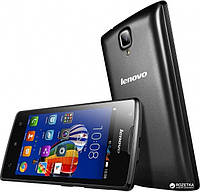 Смартфон Lenovo A1000 (черный, белый)
