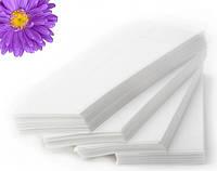 Салфетки одноразовые гладкие 7х10 см 100 шт/нарезные