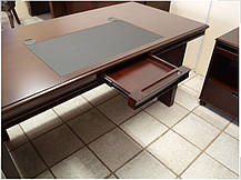 Стол руководителя Мукс YDK622 (1600мм) Палисандр (Диал ТМ), фото 3