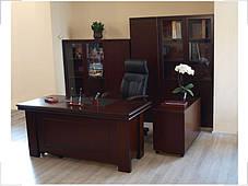 Стол руководителя Мукс YDK622 (1600мм) Палисандр (Диал ТМ), фото 2