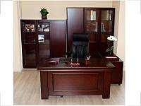 Стол руководителя Мукс YDK622 (1600мм) Палисандр (Диал ТМ)