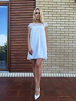 Женское летнее платье из креп шифона