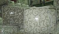 Одеяло шерстяное двуспальное 180*210 бязь хлопок (2897) TM KRISPOL Украина, фото 1