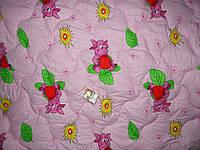 Одеяло детское силиконовое + подушка 110*140 поликоттон (2900) TM KRISPOL Украина