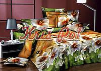 Комплект постельного белья полуторный 150*220 хлопок (2996) TM KRISPOL Украина
