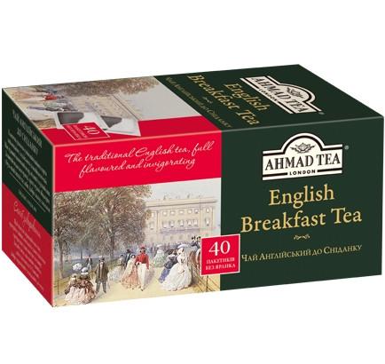 """Чай черный Ахмад """"Английский к Завтраку"""" 40 п."""