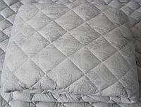 Одеяло шерстяное двуспальное евро  200*210 бязь хлопок (3274)