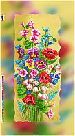 """Схема для вышивки бисером на подрамнике (холст) """"Букет полевых цветов"""""""