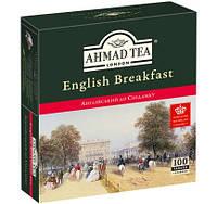 """Чай черный Ахмад """"Английский к Завтраку"""" 100 п."""