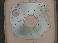 Плита переходная ЗИЛ 5301 БЫЧОК (пр-во ММЗ) Лист задний к блоку цилиндров (245-1002313-Б-02)