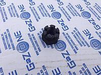 Гайка М12х1,25 h15мм корончатая под ключ 19 ()