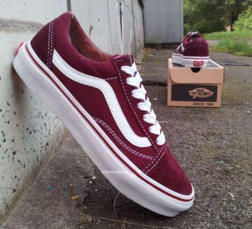 Кеды Vans old school красные (Реплика ААА+) - Интернет-магазин обуви  Bootlands 54a3bcd670b