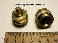 Клапан сброса конденсата ПАЗ (пр-во РЗАА) М22х1,5 ключ 19 латунь (3205-3515070)