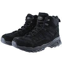 Ботинки тактические Squad Stiefel 5 Inch модель Trooper цвет ЧЕРНЫЙ MIL-TEC Германия