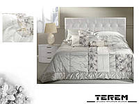 """Покрывало, подушки, постельное белье """"Шанель"""" вариан А, фото 1"""