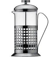 Френч-пресс Aurora AU 8004 (0,6 литра, стекло, пресс-фильтр, нержавеющая сталь)
