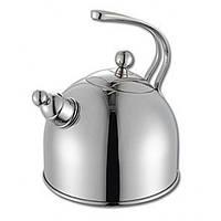 Чайник  Aurora AU 611 (2,5 литров, со свистком, нержавеющая сталь, на газ, плиту)