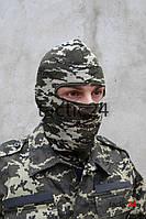 """Балаклава маска Уставной Пограничник """"лето"""""""