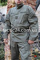Камуфляж Полиция Оливковый Охрана Rip - stop