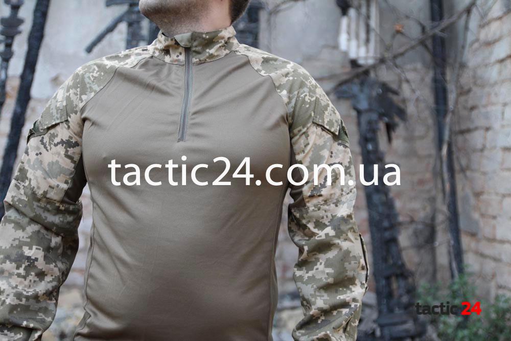Тактическая рубашка Уставной Украина ВСУ Coolmax Rip-stop