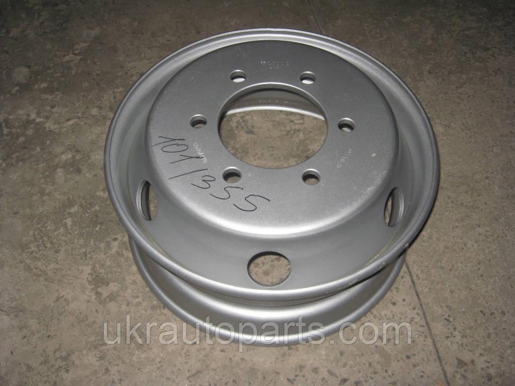 Диск колесный ГАЗон Next ПАЗ 3204 R19,5х6.75 (6 шпилек) (РЕМОФФ) (без камерка) (510.3101012-21ПП)
