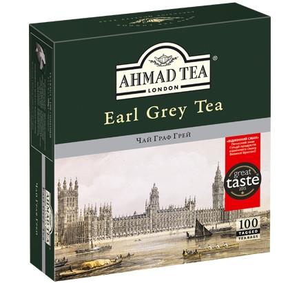 "Чай черный Ахмад ""Граф Грей"" 100 п."