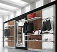 Торговая мебель для магазина верхней одежды