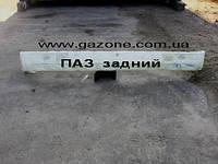 Бампер задний ПАЗ пластик белый (3205-2804010-40)