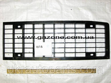 Решетка ПАЗ передняя левая (ЧЕРНЫЙ ПЛАСТИК) Облицовка радиатора (3205-5304021)