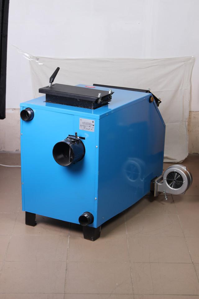 КОТВ-16ДГ котел твердотопливный для дров и угля длительного горения
