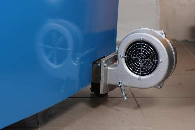 твердотопливный котел длительного горения с турбиной Огонек КОТВ-16ДГ