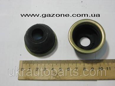 Пыльник пальца рулевого ГАЗ 24 ВОЛГА с обоймой (резиновый) (GO) (24-3003162-01)